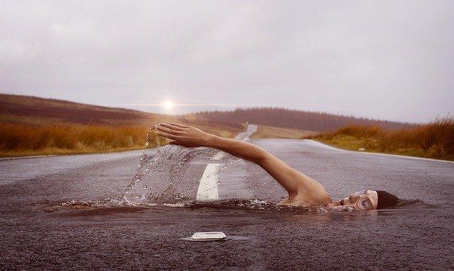 Quel est le poids idéal pour la natation ?